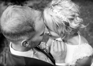 Bride Groom Formal Garden Barton Grange Hotel Preston Wedding Photography