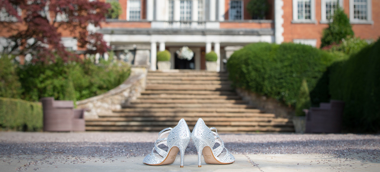 Shoes Eaves Hall Hotel Clitheroe Wedding Photography