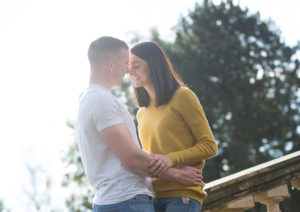 Avenham Park Preston Rim Light Pre Wedding Photography